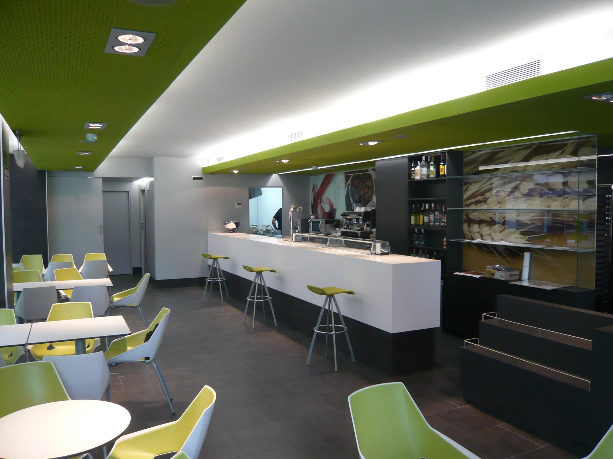 Cafeter a bar gora behera reformas de viviendas for Disenos para cafeterias